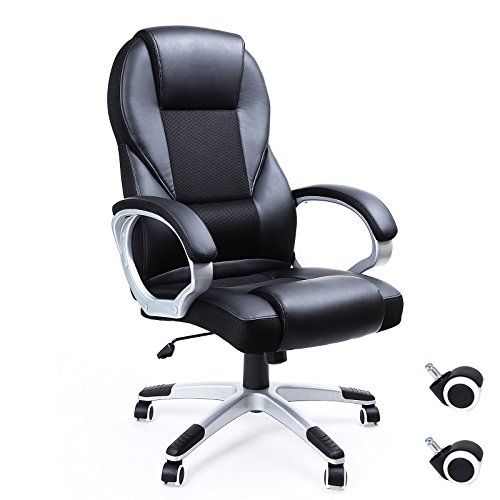 Tremendous Songmics Office Chair With High Back Large Seat And Tilt Alphanode Cool Chair Designs And Ideas Alphanodeonline