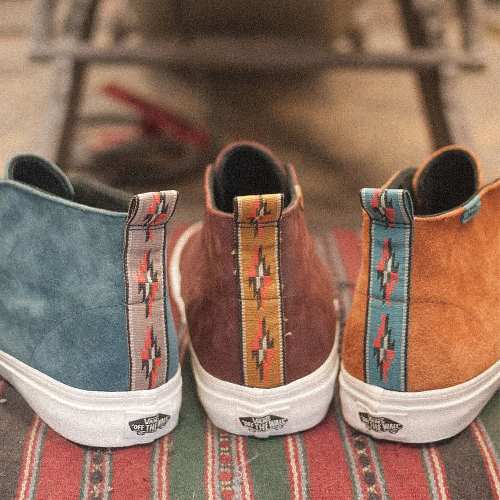 278812cc1e Vans will be offering a textiles and wovens for the Vans California  Collection. The five-piece set revisits two classic silhouettes with a  mature materials ...