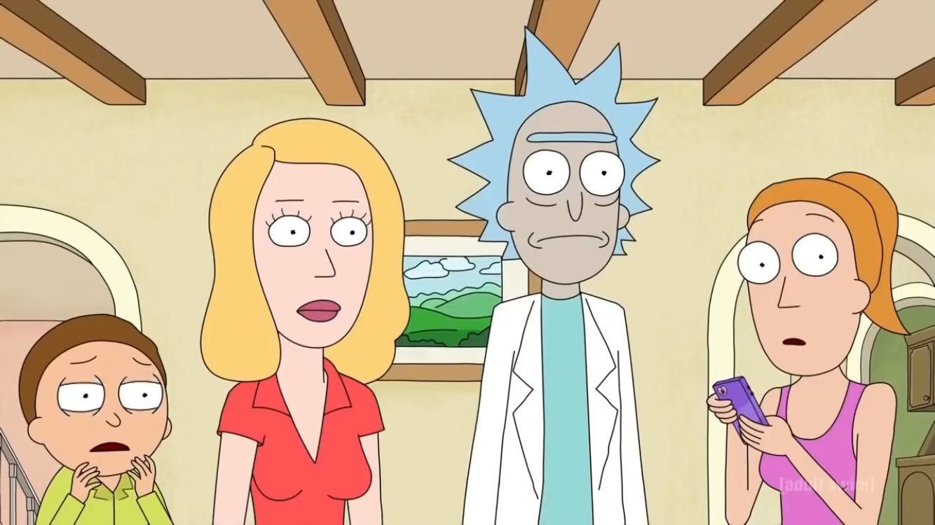Rick And Morty S3 E1 Painting Memes Rick And Morty Funny