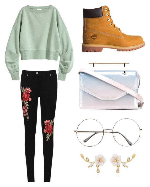 """Untitled #161"" by kuronicolas on Polyvore featuring WearAll, Timberland and M2Malletier"