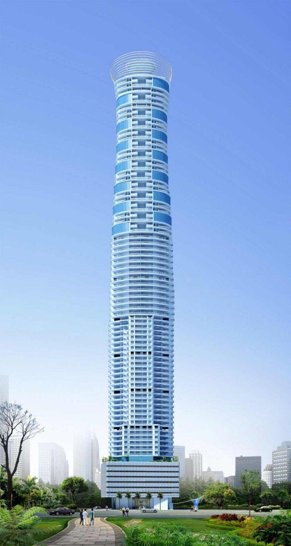 Shreepati skies tallest building design in mumbai india for Architecture firms in mumbai