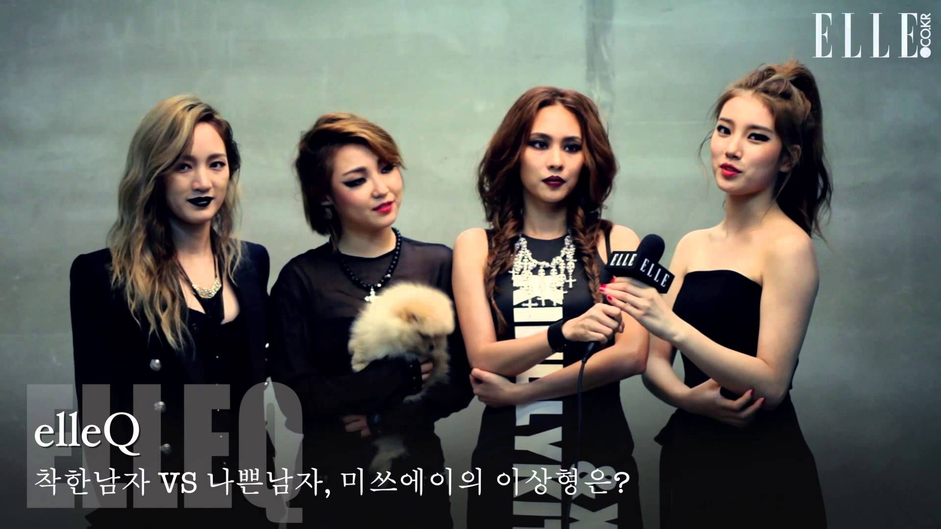 "[VID][MAGAZINE][BTS] ELLE Korea Magazine, November 2013 Photo Shoot Behind The Scene (miss A) | ""miss A, Bad Again"" http://youtu.be/1VKg4s7UK2E"