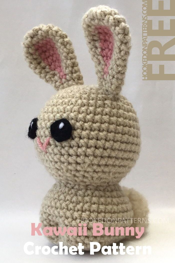 Free Crochet Bunny Pattern For Easter Kawaii Style Bunnies