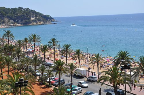 Lloret De Mar Spain Summer Holidays Sea Sun Beaches And