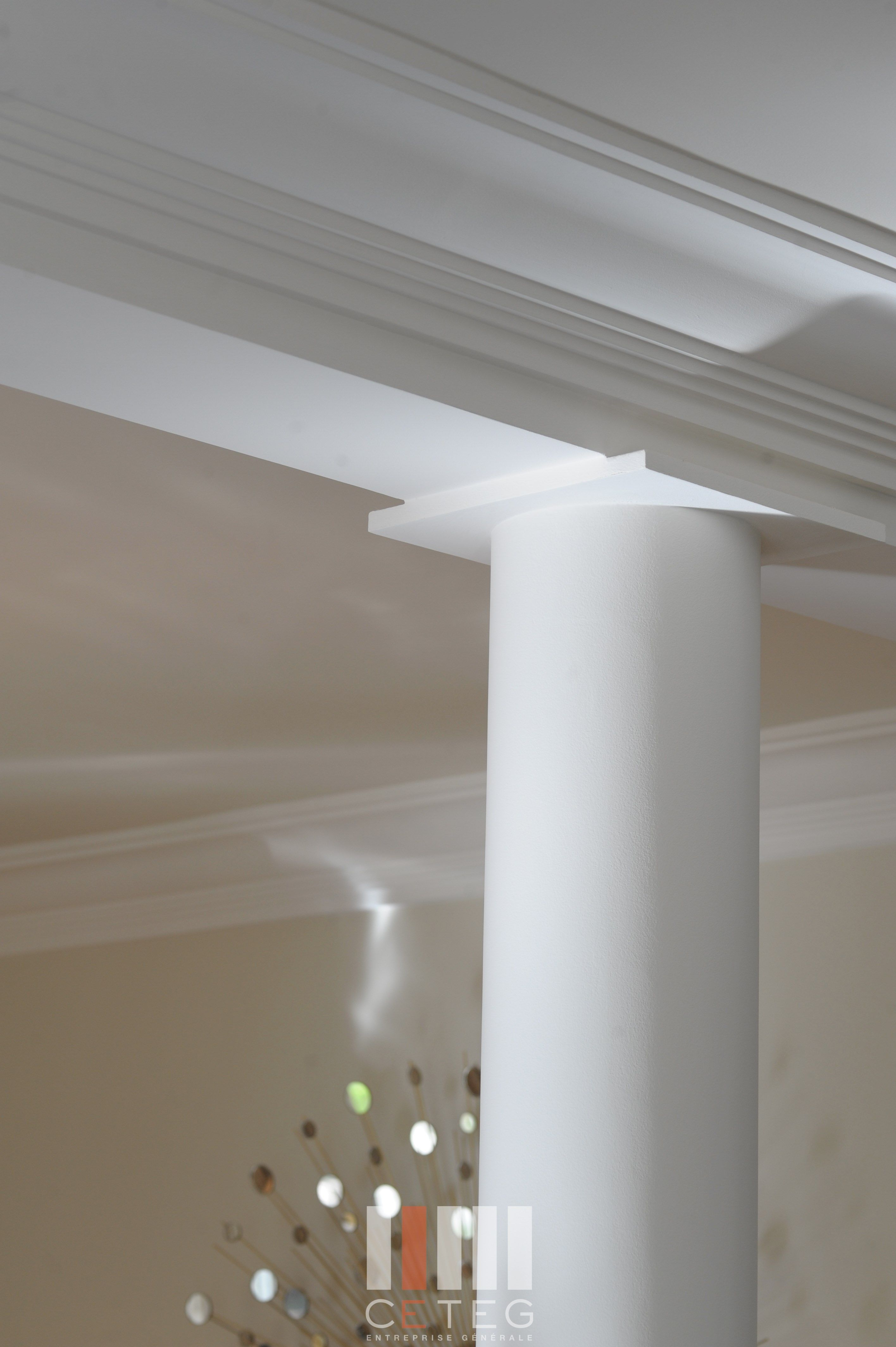 Pin by ceteg on faux plafond staff corniche pinterest for Plafond staff design