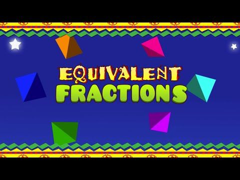 Equivalent Fractions Song & Music Video ★ Great Math Center Idea ★ COMPLETE LESSON PLAN BASED ON MUSIC VIDEO, CLICK HERE → https://www.teacherspayteachers.com/Product/Equivalent-Fractions-NUMBEROCK-worksheets-for-Math-Music-Video-2174402?aref=59e5aen8