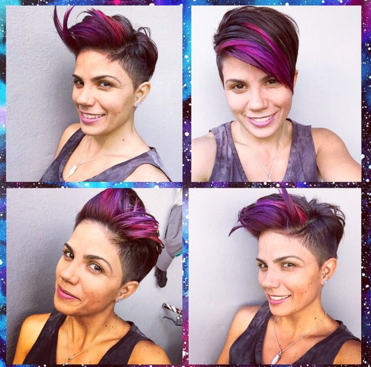 rockabilly style hair my hair undercut pixie my hair 4181