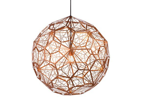Obsessed With Tom Dixon S Copper Etch Light Tom Dixon Haengelampe Loftslamper