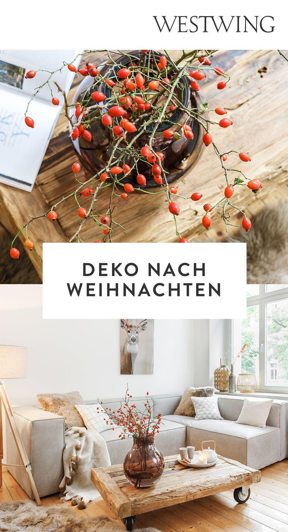 Deko nach Weihnachten: Ideen und Tipps