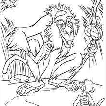 Rafiki And Timon Coloring Page Disney Coloring Pages The