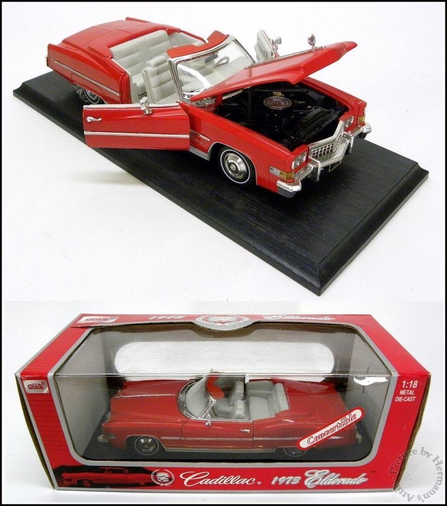 Cadillac Eldorado Convertible Red