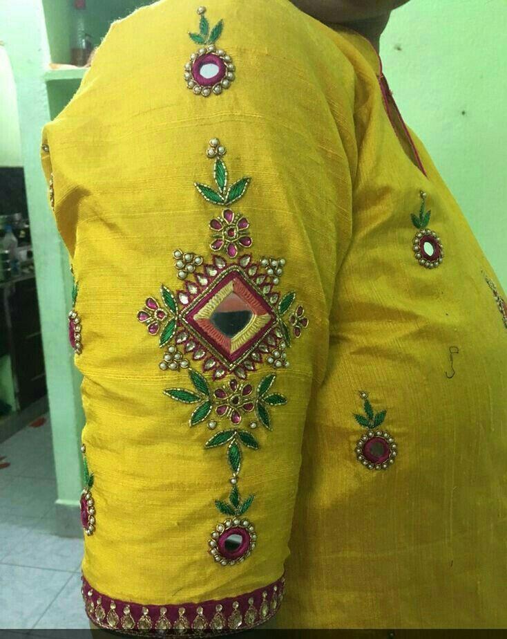 Pin de Sunita Makkar en embroidery   Pinterest