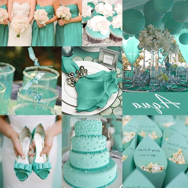 Tiffany Blue Wedding Decoration Ideas: Tiffany Blue Wedding Party - Google Search