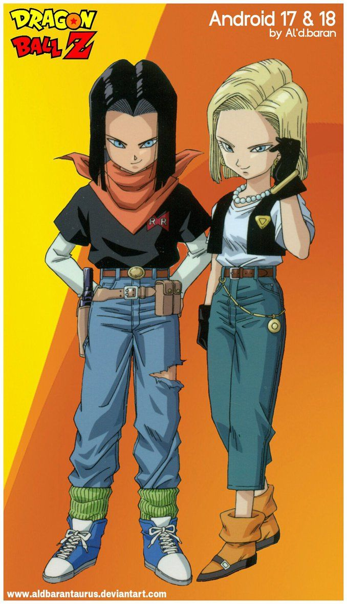 Dragon Ball Z Kai Androids Google Search With Images Dragon