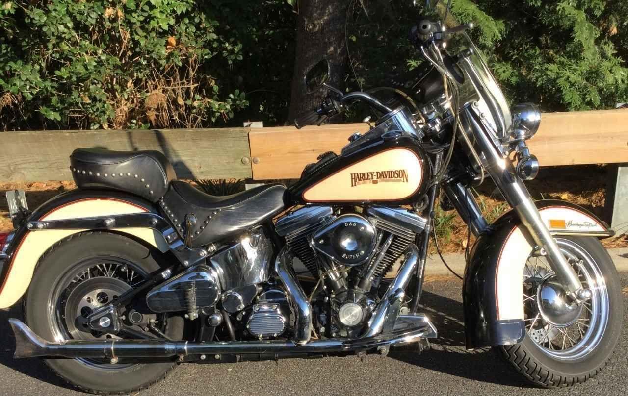 1989 Harley Davidson Heritage Softail Classic Softail Harley Davidson Bikes Harley Davidson [ 808 x 1280 Pixel ]