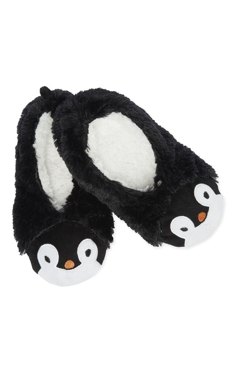 Primark - Novelty Penguin Fleece Ballet Slipper