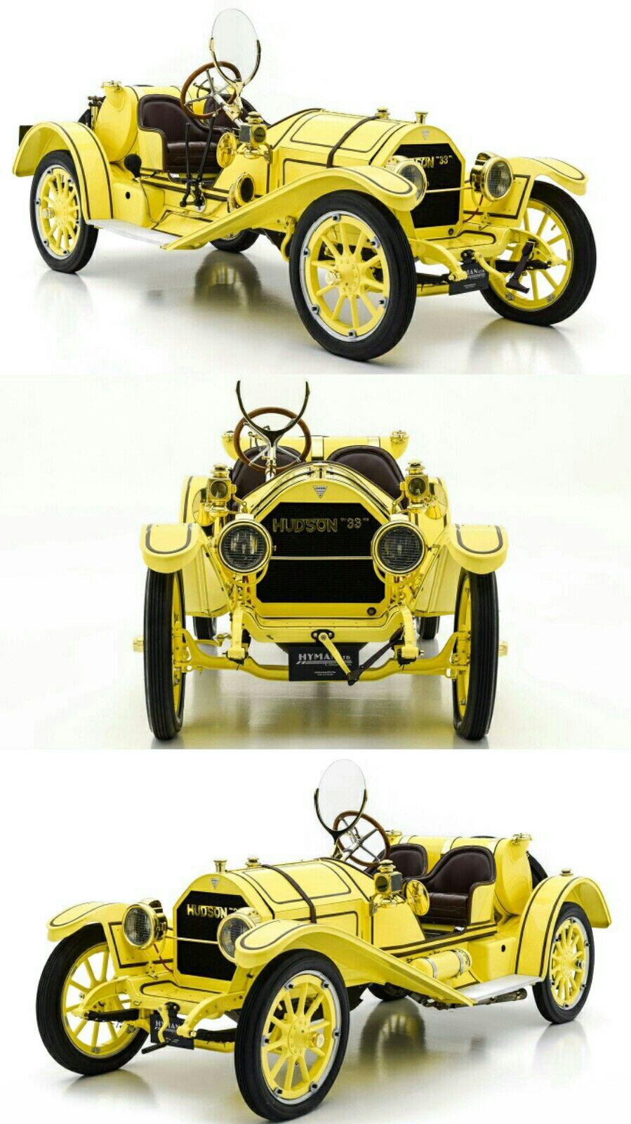 1912 Hudson Model 33 Mile A Minute Speedster In 2020 Vintage Cars Antique Cars Vespa Vintage