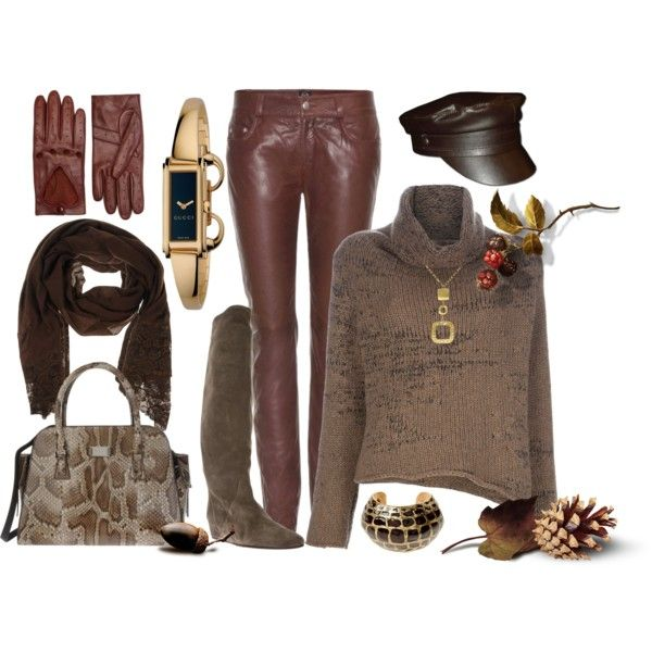 """""""Alexander McQueen Leather Pants"""" by i-t-chic on Polyvore"""