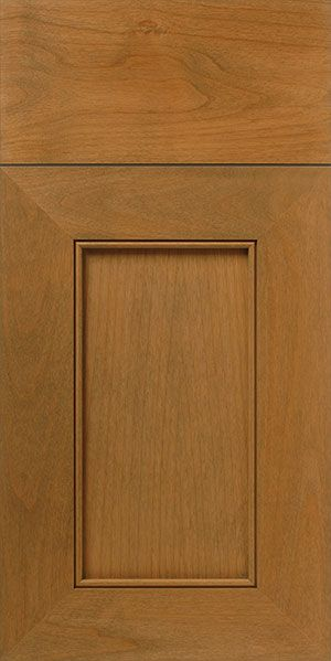 S916 Seaside   Natural Alder Door U0026 Drawer Front With Bead Detail And Light  American Walnut Finish | WalzCraft