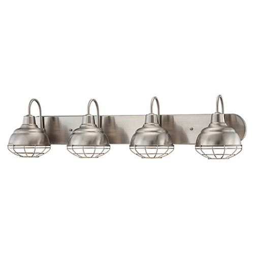 Millennium Lighting Neo-Industrial Satin Nickel 9 x 36.25-Inch ...