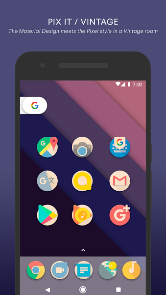 Pin on Download android games PIX IT VINTAGE Icon Pack v2.9