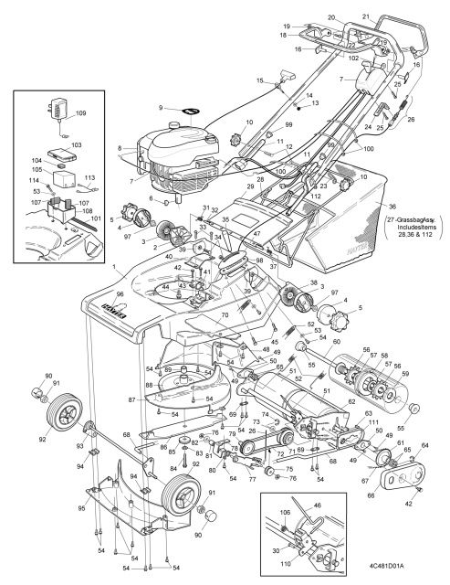 Hayter Harrier 48 480d260000001 Spares And Spare Parts Harrier Spare Parts Diagram