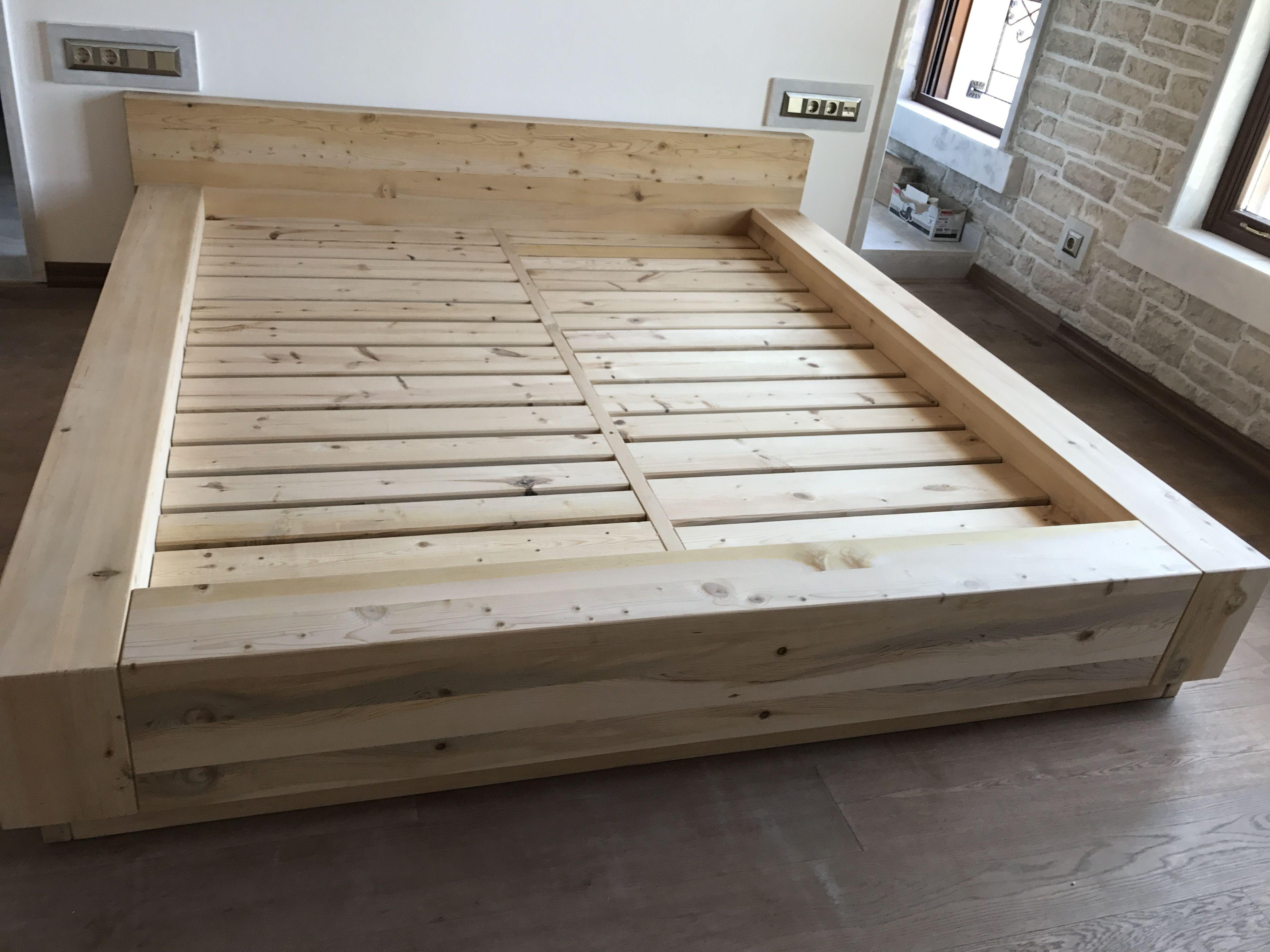 Pin By Brianna Keller On Denenecek Projeler Wood Bed Frame Bed