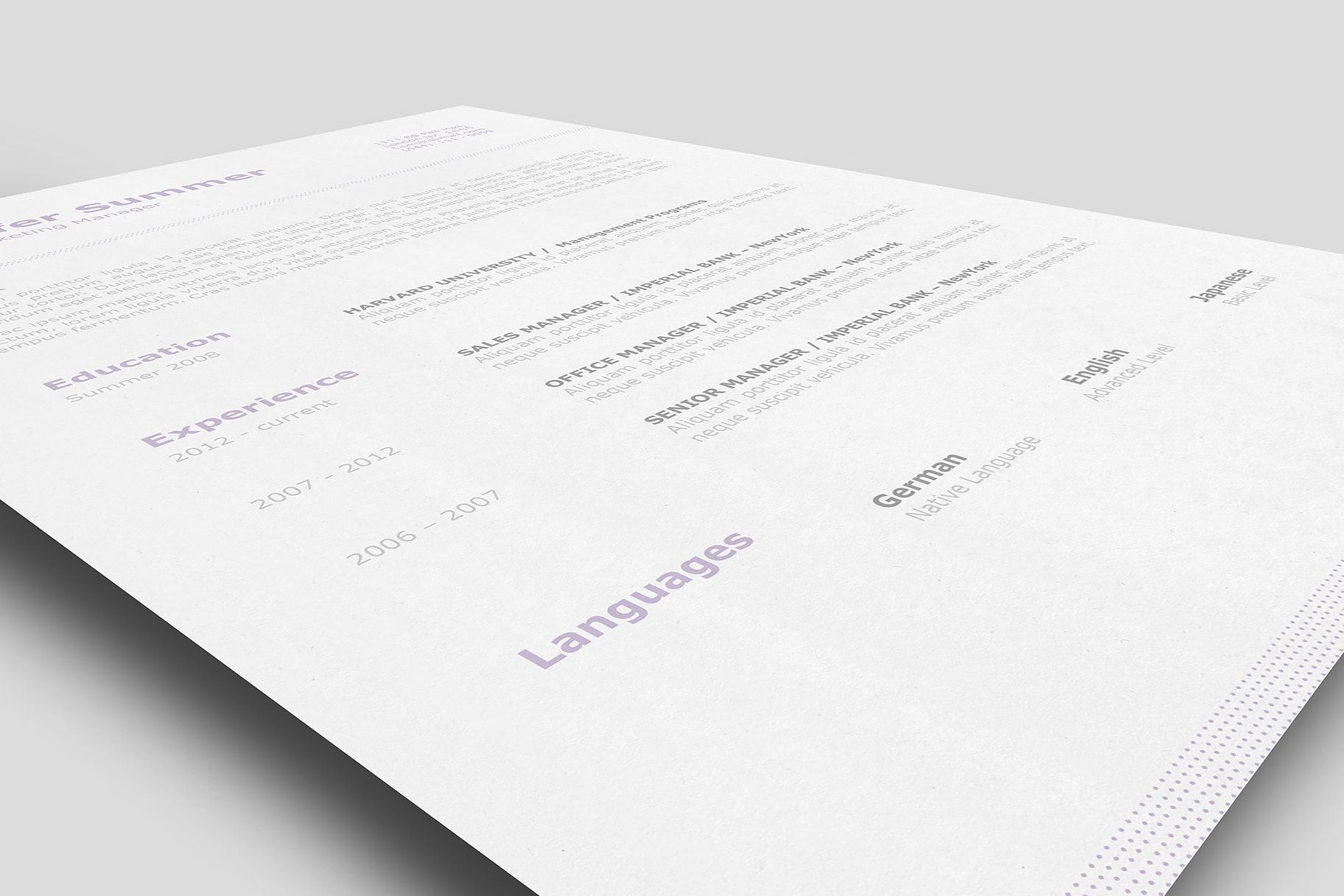 classic resume template 110710 is for anyone looking to create a professional resume and cover letter - Iwork Resume Templates