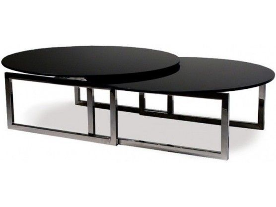 Table Basse Ovale En Verre Trempe Noir Origami Table Basse Ovale En Verre Table Basse Ovale Table Basse