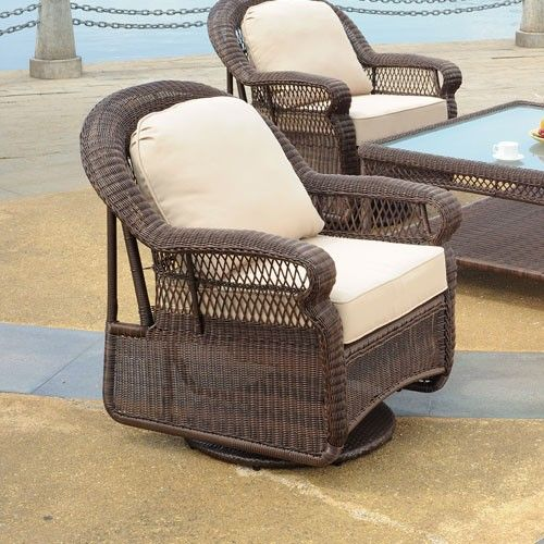 Retail $899, Our Price $615. Outdoor Patio Furniture. South Sea Rattan Furniture w/ Sunbrella Fabric (Montego- Swivel Glider).  www.wemakedirtlookgood.com  http://www.facebook.com/landscapelightinganddesign, http://www.facebook.com/southernlightsofnc, http://www.facebook.com& www.southernlightsofnc.com