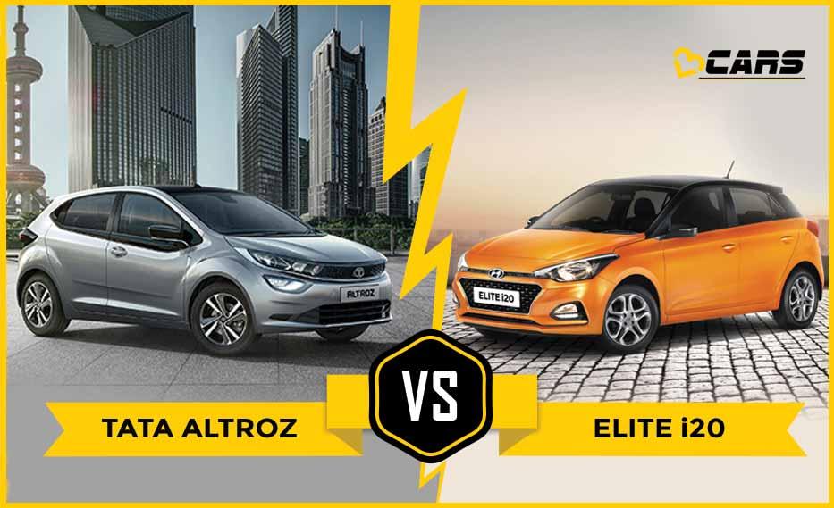 Tata Altroz Vs Hyundai Elite I20 Xz Vs Asta Dimensions Comparison Hyundai Tata Infotainment System