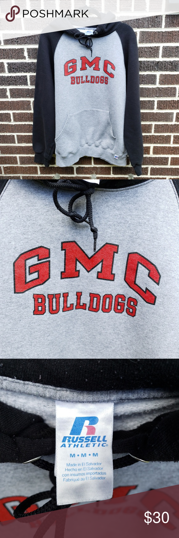 Georgia Military College Hoodie Go Gmc Bulldogs Woot Purchased In The Fall Winter 2016 While My Son Attended Th College Hoodies Athletic Shirts Hoodies