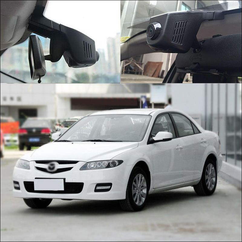 For Mazda 6 APP Control Car Wifi DVR Driving Video Recorder FHD 1080P Wide Angle Hidden installation G-sensor car black box