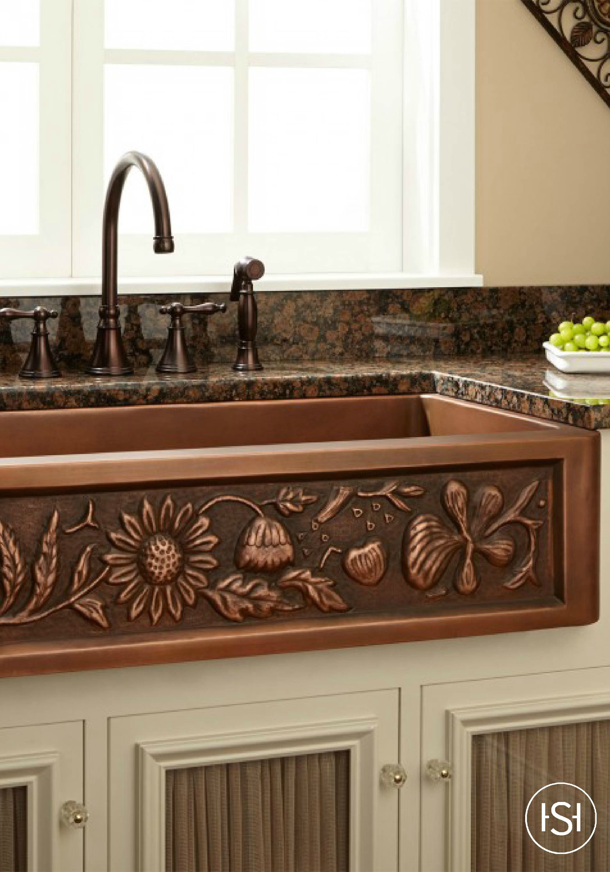 Add a touch of natural beauty to your kitchen with this