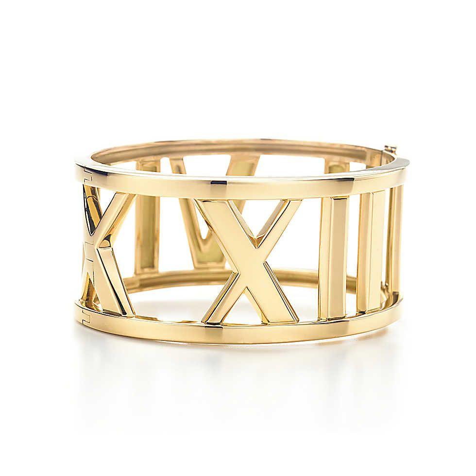 Atlasopen wide bangle tiffany bracelets diamond bracelets and
