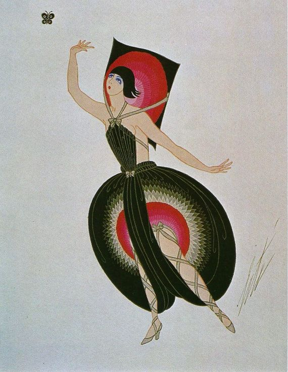 Erté: Costume design for George White's Scandals