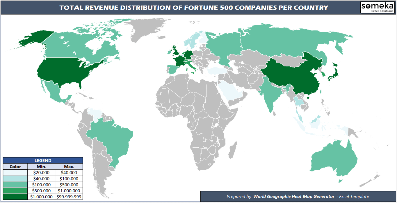 Fortune global 500 companies visualized with geographic heat maps fortune global 500 companies visualized with geographic heat maps gumiabroncs Choice Image