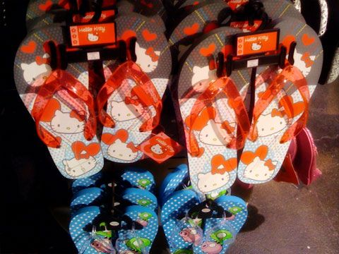 Hello Kitty flip flop