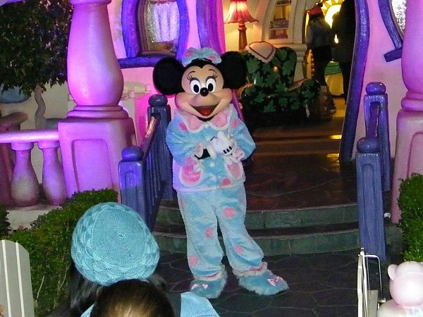Minnie Mouse in her pajamas for #Disney24   Minnie Mouse ...