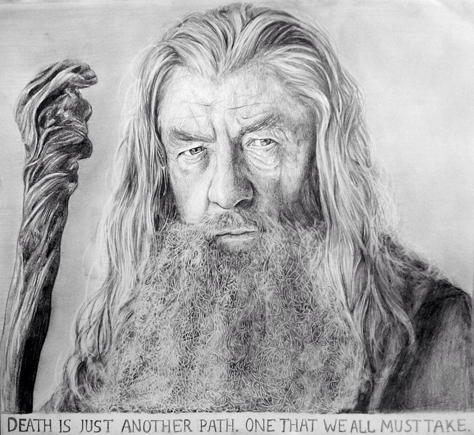 Gandalf drawing   Pencil   Pinterest   El señor, Páginas para ...