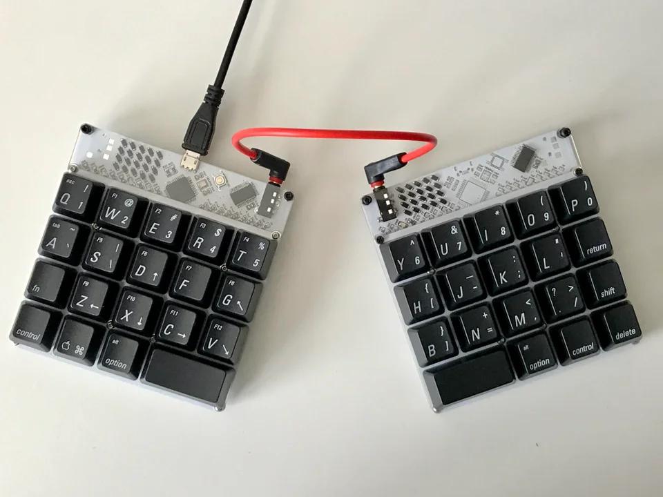 I made a little keyboard [buildlog] MechanicalKeyboards