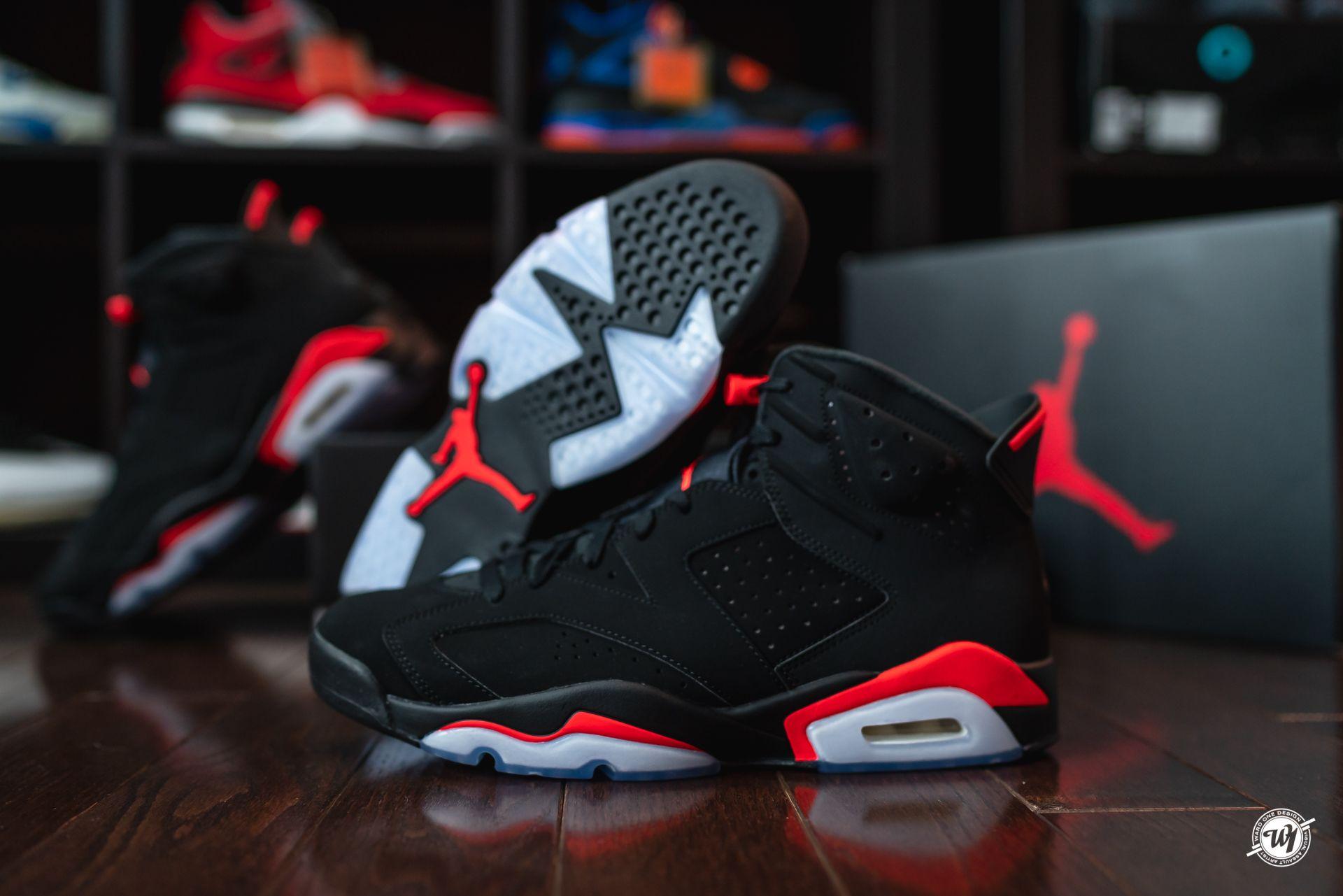 Air Jordan 6 Infrared #airjordanVI #airjordan6 #sneakerhead ...