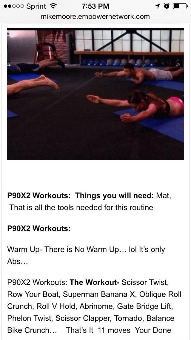 P90x2 Workouts