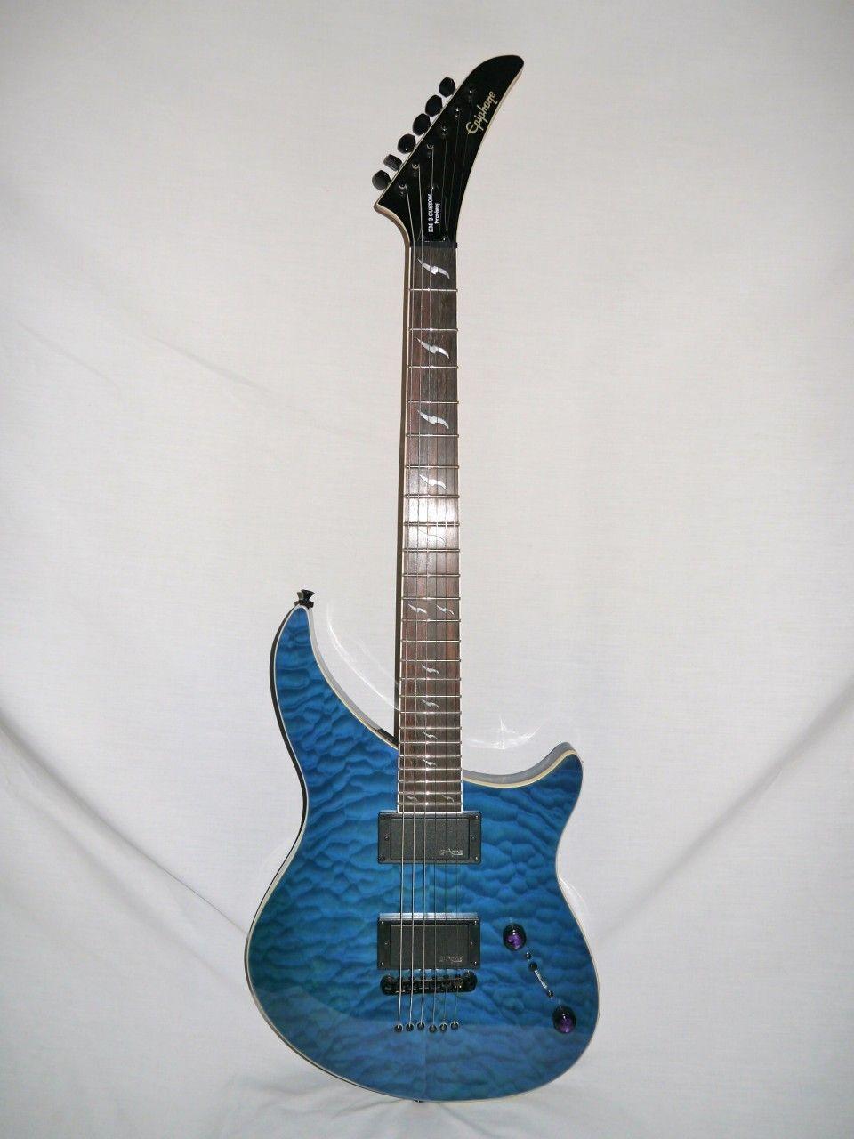 Indian creek guitars epiphone em2 custom ex prophecy