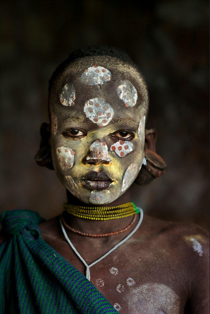 Africa | Suri child. Omo Valley, Ethiopia | ©Steve McCurry