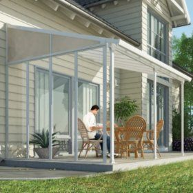 Palram Feria 10 Patio Cover Sidewall Kit In 2019
