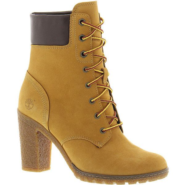 Timberland Glancy 6 inch Boot ($130) ❤ liked on Polyvore featuring shoes,  boots