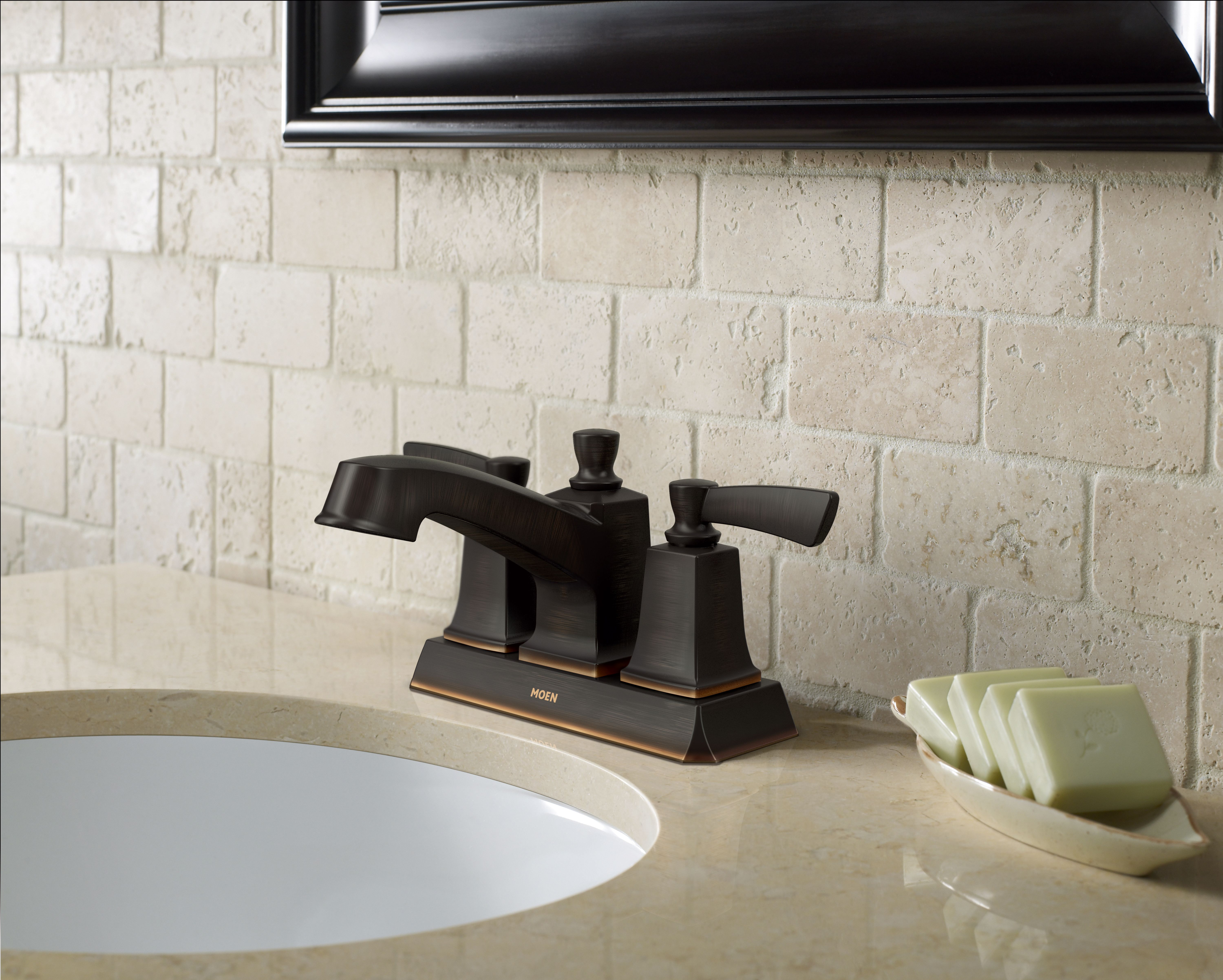Evoke the aesthetic of a Rustic Tuscan Home with this Moen® Conway 2 ...