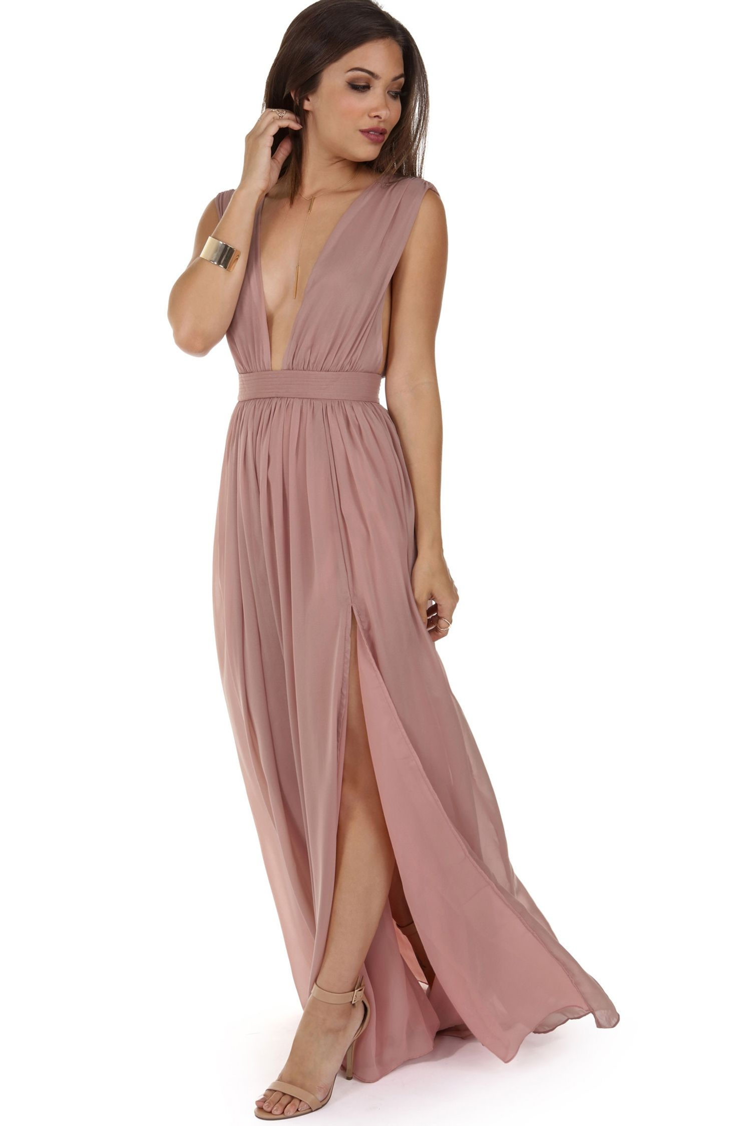 Araceli Mauve Chiffon Dress | windsor | Bridesmaids | Pinterest