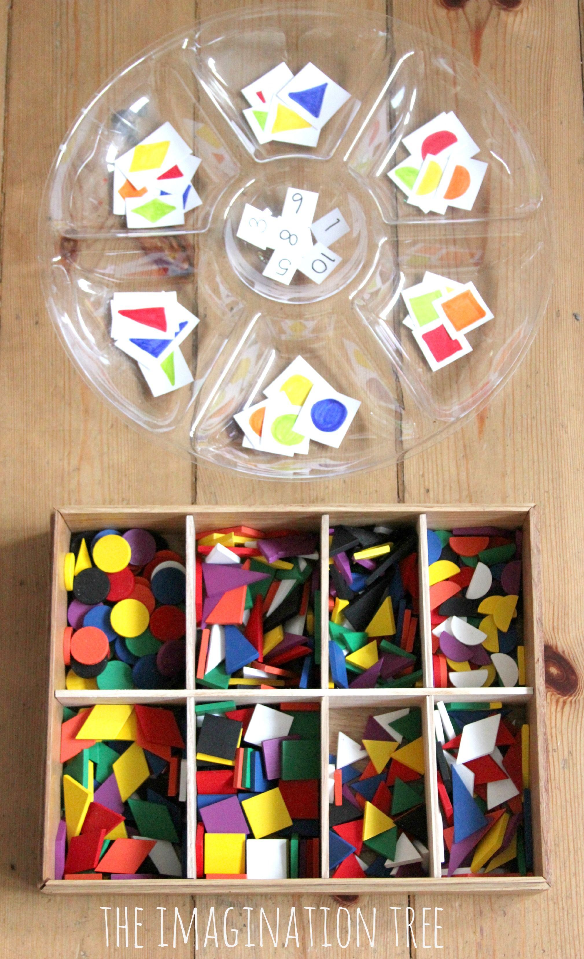 Counting And Addition With Shapes And Spielgaben Set